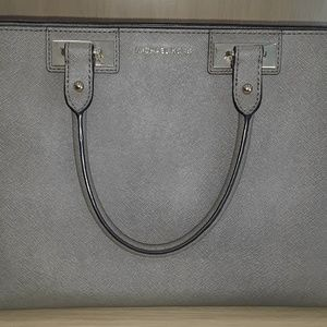 Michael Kors Quinn Large Saffiano Leather Satchel